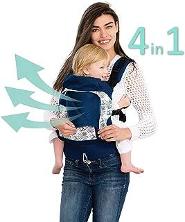 LÍLLÉbaby 4 in 1 Essentials All Seasons Baby Carrier, Seven Seas