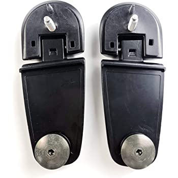 XtremeAmazing 2Pcs Liftgate Window Glass Hinges for Ford 7L1Z78420A68AA 7L1Z78420A69AA