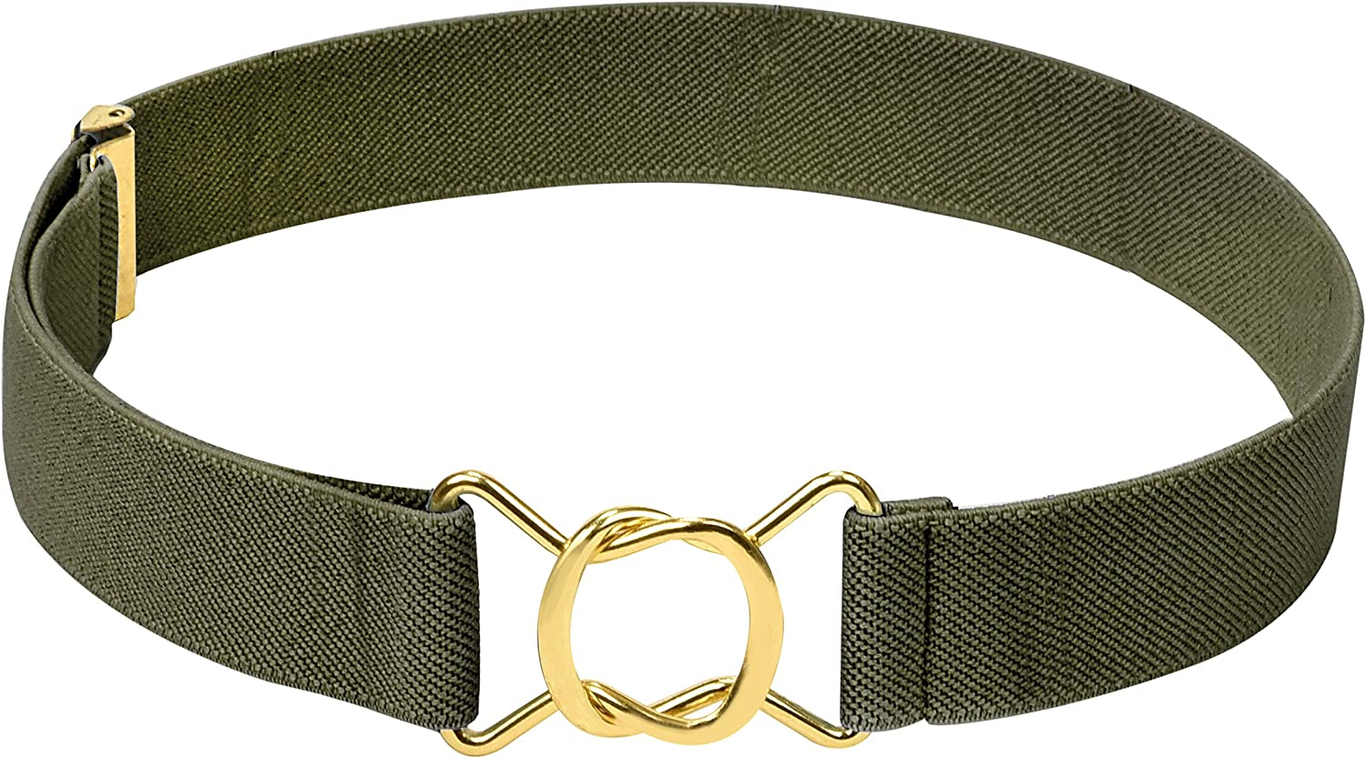HOLD'EM Kids Belts Max 55% OFF for Quality inspection Boys Stretch Brass Twisted Toddler E