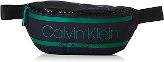 Calvin Klein Striped Logo Waist bag Luggage & Travel Gear, Blue, 32 cm - K50K505522