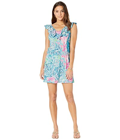 Lilly Pulitzer Alessa Romper (Multi Sink Or Swim) Women