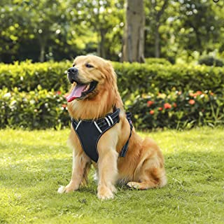 Akarden No-Pull Dog Harness, Breathable Adjustable Pet Vest Harness, Easy Control Handle for Large Medium Small Dogs