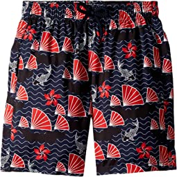 Hong Kong Jihin Printed Trunks (Little Kids/Big Kids)