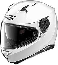 Nolan Unisex Adult N87 Metallic White Full Face Helmet N875270330051