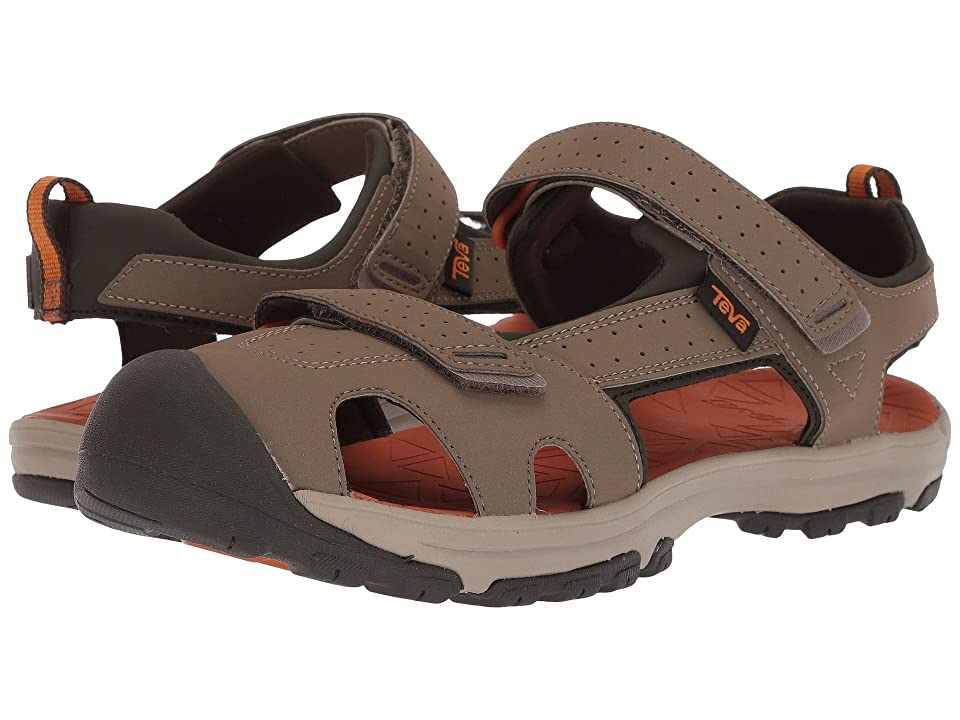 Teva Kids Hurricane Toe Pro (Big Kid) (Walnut) Boys Shoes