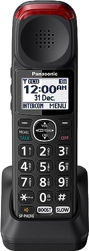 Panasonic Optional Additional Cordless Handset for KX-TGM420AZB and KX-TGM422AZB Digital Cordless Phones, Black (KX-T...
