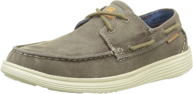 Skechers Men's Status- Melec Boat shoes