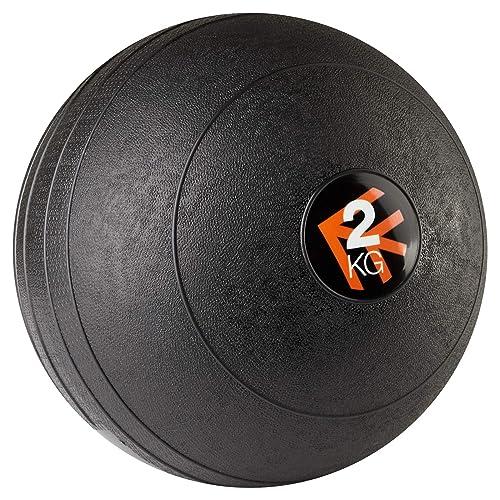 Mirafit Black Non Bounce Slam Ball - Choice of Weight