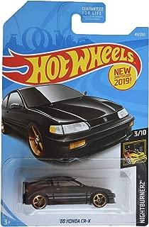 Hot Wheels Nightburnerz 3/10 [Black] '88 Honda CR-X 49/250