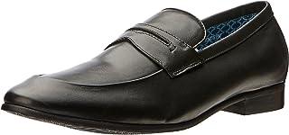Oxford Men's Andrew Leather Loafer Black