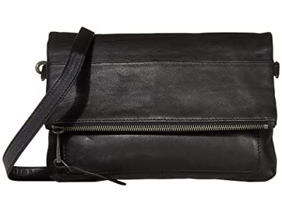Lucky Brand Inzy Flap (Black) Handbags