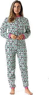 Printed Flannel Adult Onesie/Pajamas