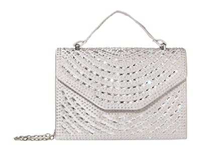 Jessica McClintock Eleanor (Silver) Handbags