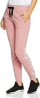 Calvin Klein Women's Terry Jogger Pant with Logo on Back Leg
