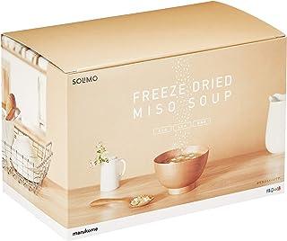 [Amazonブランド] SOLIMO 料亭の味 フリーズドライ みそスープ 30食(顆粒タイプ)