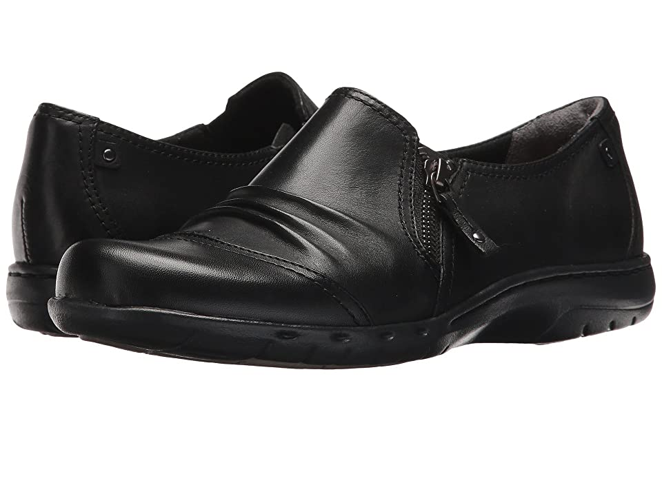 Rockport Cobb Hill Collection Cobb Hill Penfield Zip Shoe (Black Leather) Women