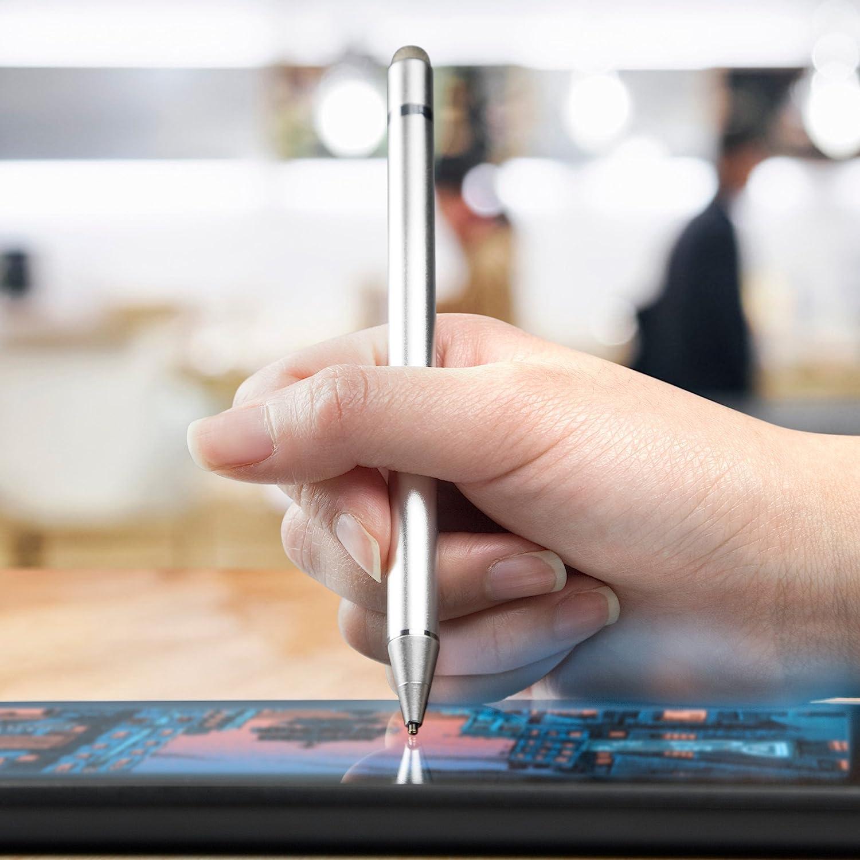Metallic Silver Oppo Reno 5G Stylus Pen AccuPoint Active Stylus Electronic Stylus with Ultra Fine Tip for Oppo Reno 5G BoxWave