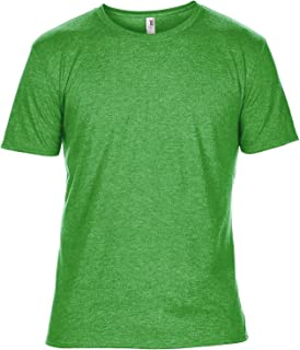 Anvil Mens Plain Short Sleeve Tri-Blend T-Shirt