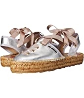 LOVE Moschino - Lace-Up Espadrille