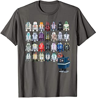 Star Wars Droids R2-D2 and Astromech Gonk T-Shirt