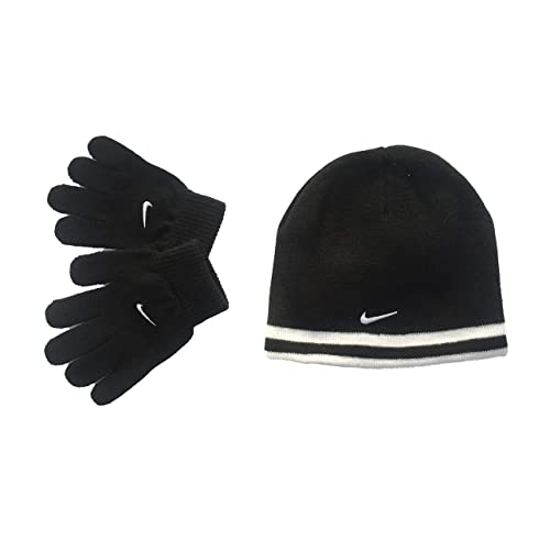 2273d08d0e9457 Nike Boy`s Reversible Beanie and Gloves Set