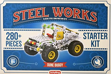 Amazon Com Schylling Steel Works Dune Buggy Toy Toys Games