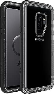 Lifeproof NEXT SERIES DROP-DIRT-SNOWPROOF (NOT Waterproof) Case for Samsung Galaxy S9 Plus - Retail Packaging - BLACK CRYSTAL (BLACK/CLEAR)