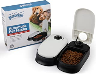 PAWISE Automatic Pet Feeder for Dogs, Cats and Small Animals,Auto Pet Food Dispenser