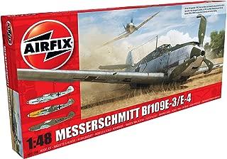 Airfix Messerschmitt Bf109E-4 / E-1 1:48 Military Aviation Plastic Model Kit A05120B