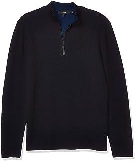 Men's Detroe Half Zip Merino Wool Sweater