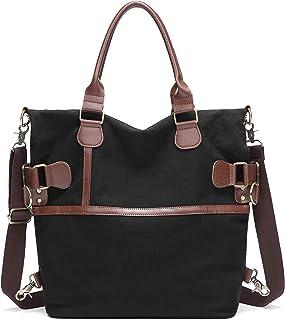 Myhozee Handtasche Damen Tashcen Groß Umhängetasche Strandtasche Schultertasche Vintage Multi-Beutel Damenhandtasche Groß ...