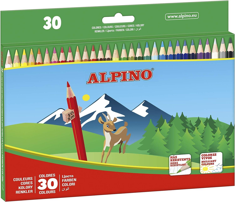 Alpino AL010659 - Estuche 30 lápices