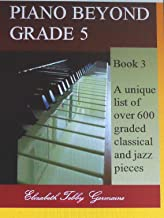 list of piano pieces by grade