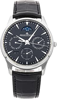 Master Mechanical (Automatic) Black Dial Mens Watch Q1308470 (Certified Pre-Owned)