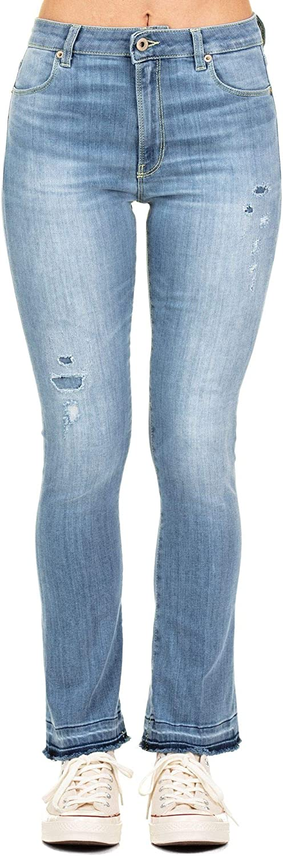 Dondup Women's DP426DS0112V30800 bluee Cotton Jeans
