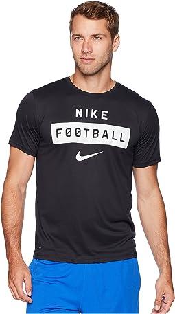 Dry Tee Football Wordmark