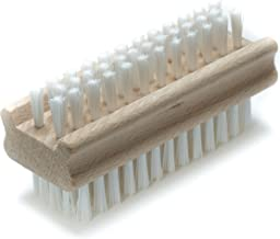 Non-Slip Wooden Two-sided Hand and Nail Brush
