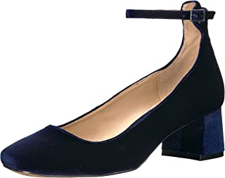 Amazon Brand - The Fix Women's Morgan Block-Heel Ankle Strap Dress Pump