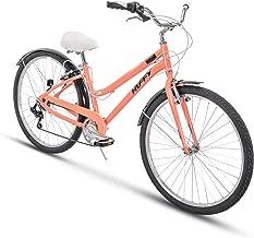 Huffy Comfort Commuter Bike, 27.5 inch Hyde Park  7 Speed & 3 Speed, Lightweight Aluminum