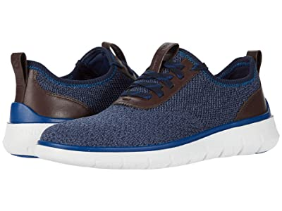 Cole Haan Generation Zerogrand Stitchlite (Vintage Indigo/Navy Ink Knit/CH Java/True Blue/Optic White) Men