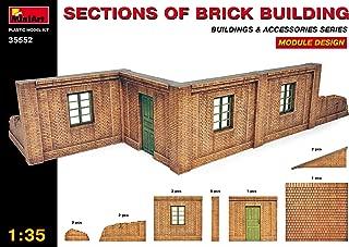 MiniArt 1:35 Scale Brick Building Sections Plastic Model Kit