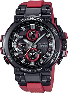 Men's Casio G-Shock MT-G Connected Red Resin Strap Limited Edition Watch MTGB1000B-1A4