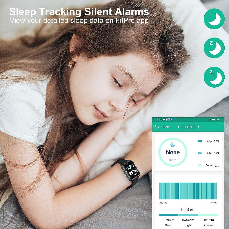 miniature 5 - Smart Watch Fitness Tracker BP fréquence cardiaque étape Calorie Sommeil Moniteur Étanche