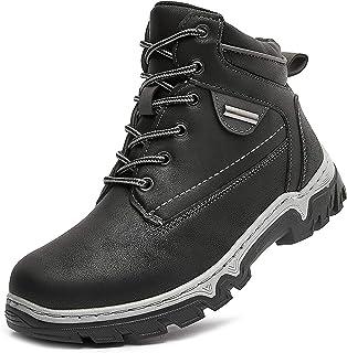 Women Mid Hiking Boots Outdoor Waterproof Non Slip Backpacking Trekking Walking Trails