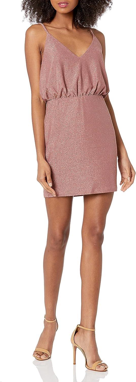 Speechless Women's Sleeveless Blouson Dress