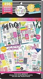Happy Planner Sticker Value Pack-happy Quotes, 496/pkg