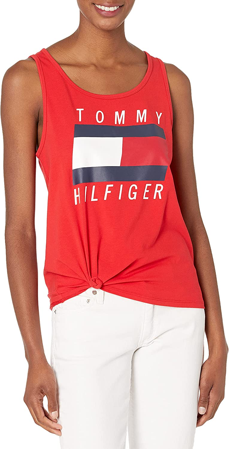 Tommy Hilfiger Women's Knotted Logo Tank
