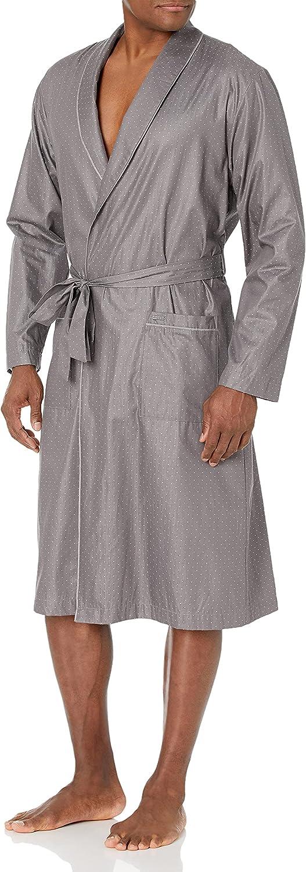 HANRO mens Maxim Reversible Robe