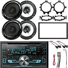 Kenwood 2-DIN Bluetooth CD AM/FM USB Car Audio Receiver, 4x 6.5
