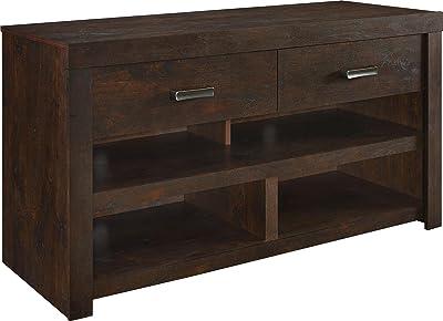Toponeware 60H Modern Style TV Stand-Walnut Oak